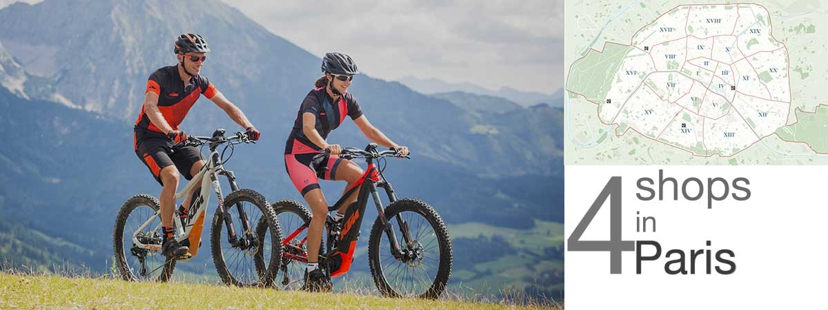 Kalkhoff, Focus, KTM, Gitane and Peugeot e-bikes are available at AC-Emotion