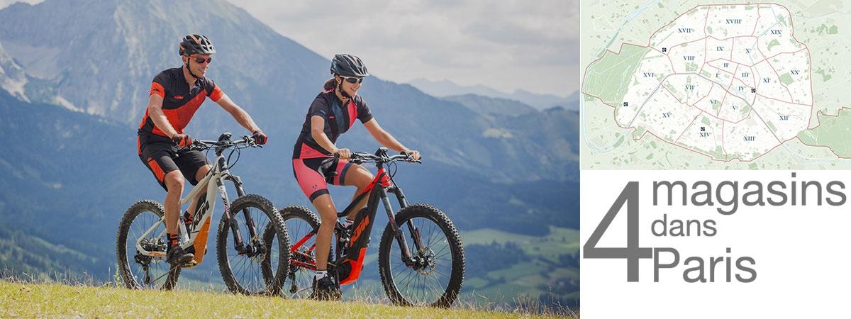 les vélos électriques Kalkhoff, Focus, KTM, Gitane et Peugeot sont disponibles chez AC-Emotion