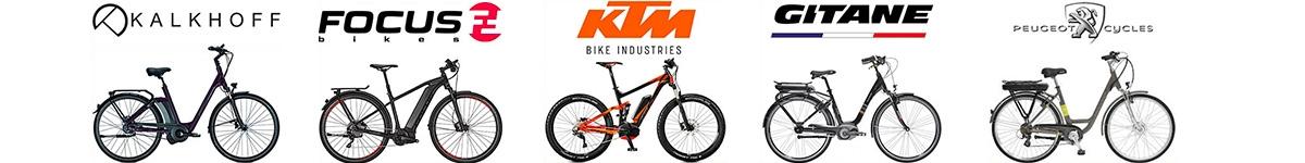 AC-Emotion propose une sélection de vélos électriques parmi 5 marques prestigieuses